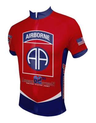 5c8100669 82nd Airborne Division Cycling Jersey .