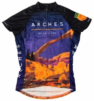 Arches National Park Women's Cycling Jersey