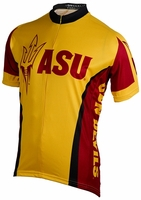 Arizona State University Sun Devils Cycling Jersey Free Shipping