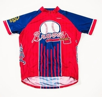 Atlanta Braves Men's Cycling Jersey