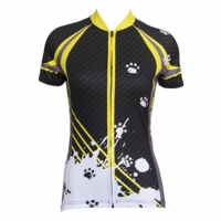 [DISCONTINUED] Bad Cat Women's Short Sleeve Cycling Jersey