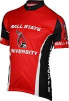 [DISCONTINUED] Ball State University Cardinals Cycling Jersey