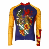 Bavarion Baron Men's Long Sleeve Cycling Jersey