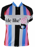 Biker Chic Rainbow Women's Cycling Jersey