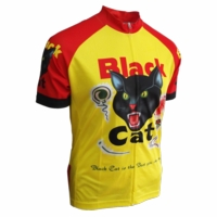 Black Cat Cycling Jersey