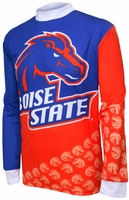 [DISCONTINUED] Boise State Broncos Long Sleeved Bike Jersey