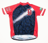 Boston Red Sox V2 Men's Cycling Jersey