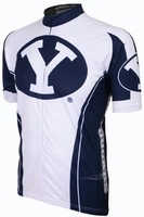Brigham Young University BYU Cougars Cycling Jersey Free Shipping