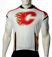 Calgary Flames Cycling Jersey Free Shipping