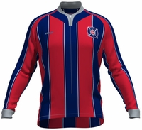 Chicago Fire Long Sleeve Cycling Jersey