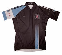 Chicago Fire Third Short Sleeve Cycling Jersey
