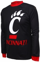 Cincinnati Bearcats Long Sleeved Bike Jersey