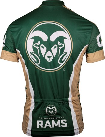 NCAA Men/'s Adrenaline Promotions Colorado State University Cycling Jersey
