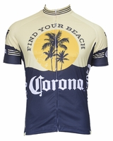 Corona Vintage Men's Short Sleeve Cycling Jersey