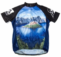 Crater Lake National Park Cycling Jersey