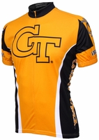 Georgia Tech Yellow Jackets Cycling Jersey Free Shipping
