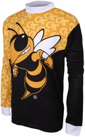Georgia Tech Yellow Jackets Long Sleeved Bike Jersey
