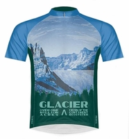 Glacier National Park Cycling Jersey