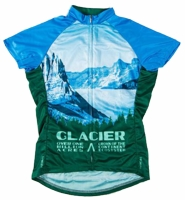 Glacier National Park Women's Cycling Jersey