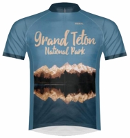 Grand Teton National Park Cycling Jersey