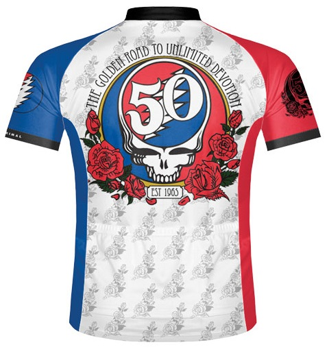Grateful Dead 50th Anniversary Cycling Jersey a8519992b