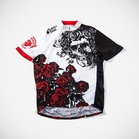 Grateful Dead Skull & Roses Cycling Jersey