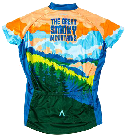 Great Smoky Mountains National Park Women s Cycling Jersey 8d31d5f4e