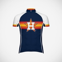 Houston Astros Men's Evo Cycling Jersey