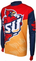 Iowa State Cyclones Long Sleeved Bike Jersey