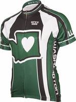Its in My Heart Washington Cycling Jersey