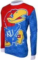 Kansas Jayhawks Long Sleeved Bike Jersey