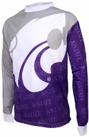 Kansas State Wilcats Long Sleeved Bike Jersey