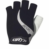 Louis Garneau Biogel Black Cycling Glove