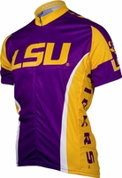 LSU Tigers Cycling Jersey