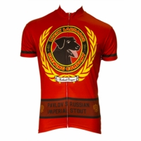 Lucky Labrador Imperial Stout Men's Short Sleeve Cycling Jersey