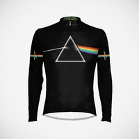 Men's Pink Floyd The Dark Side of the Moon Long Sleeve Cycling Jersey