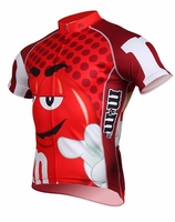 Men's Red M&Ms Cycling Jersey