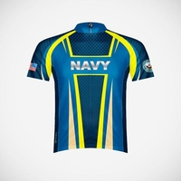 Men's US Navy Team Issue Cycling Jersey