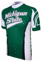 Michigan State Spartans Cycling Jersey Free Shipping