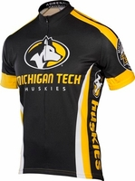 Michigan Tech Huskies Cycling Jersey