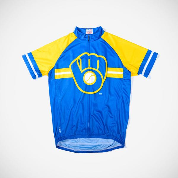 promo code 1a49b 58930 Milwaukee Brewers Men's Cycling Jersey