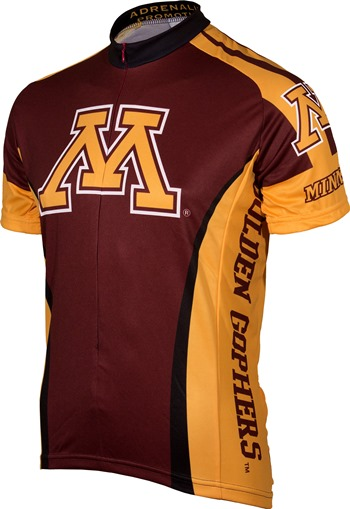 new concept fc220 97ab4 Minnesota Golden Gophers Cycling Jersey |Free Shipping ...