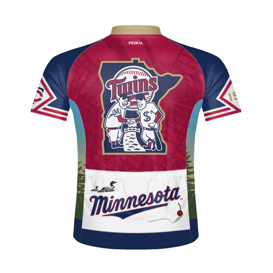 Minnesota Twins Men s Cycling Jersey 0d5c778b9
