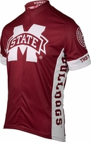 [DISCONTINUED] Mississippi State Bulldogs Cycling Jersey