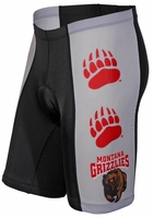 [DISCONTINUED] Montana Grizzlies Cycling Shorts