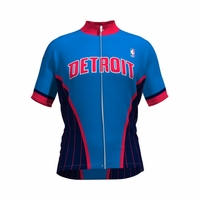 NBA Detroit Pistons Men's Wind Star Cycling Jersey