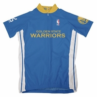 NBA Golden State Warriors Women's Short Sleeve Away Cycling Jersey