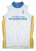 NBA Golden State Warriors Women's Sleeveless Home Cycling Jersey