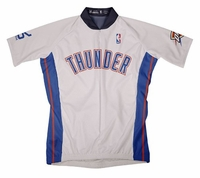 NBA Oklahoma City Thunder Men's Short Sleeve Home Cycling Jersey