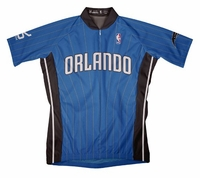 NBA Orlando Magic Men's Short Sleeve Away Cycling Jersey